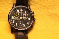 Original, Swiss Commando, Wenger , Tachymeter + Telemeter, Datum, in schwarz