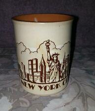 VTG NY City Skyline w/ Twin Towers Ceramic Coffee Mug