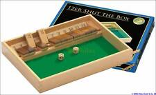 Würfelspiel Shut the box 12er aus Holz Brettspiel