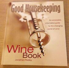GOOD HOUSEKEEPING WINE BOOK Jonathan Pedley (Hardback)