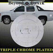 07-14 GMC YUKON Triple ABS Chrome Fuel Gas Door Cover Cap Overlay Trims
