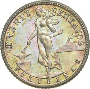 Better - 1944 Philippines 20 Centavos - TC *992