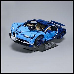 Bugatti Chiron Acrylic Display Stand for Lego Technic model 42083
