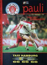 Programm 1998/99 FC St. Pauli - Fortuna Köln