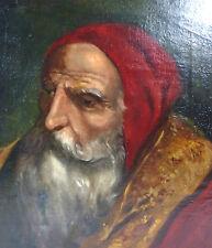 Portrait Gemälde Bild Öl auf Leinwand 19 Jh. Sammlungsauflösung
