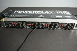 Powerplay Pro HA4600 4-channel headphone distribution amplifier. Tested