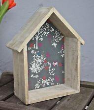 Sass & Belle MENSOLA MARRONE Legno Scaffale Casa in Armadio da parete fiori