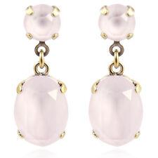 Ohrringe mit Kristallen von Swarovski® Rosa Gold NOBEL SCHMUCK