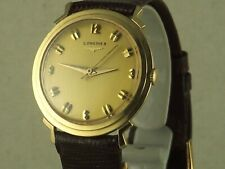 Vintage Longines 14K Gold Deco w/sweep seconds