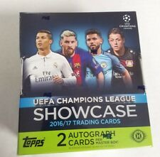 2016-17 Topps UEFA Champions League Showcase Soccer Hobby Box