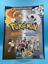 jeu video nintendo DS guide officiel pokedex pokemon or argent vol 1 FR