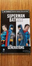 DC GRAPHIC NOVEL COLLECTION #80~SUPERMAN/BATMAN GENERATIONS ~HC NEW SEALED