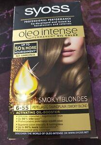 Boite neuve Coloration Smoky Blondes Oleo Intense sans ammoniaque marque Syoss.