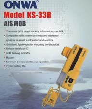 ONWA KS-33R AIS-MOB Personal locator beacon tracker Smartfind AIS MOB