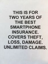 Apple iPhone X BEST PHONE INSURANCE $199 FOR 2 YEARS UNLIMITED THEFT, LOSS, DAMG