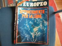 L'EUROPEO=N.1051 1966=DE GAULLE=KENNEDY=URSULA ANDRESS