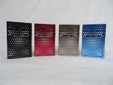 LAIFU Black Metal Cigarette Pack Aluminum Case Magnet Flip Top Box REGULAR SIZE