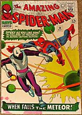 AMAZING SPIDERMAN 36 F+/VF- RARE KEY 1st LOOTER STAN LEE STEVE DITKO COVER ART