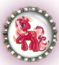Little Pony Bottle Cap Pet Cat Dog Collar ID Tag, Jewellery, Gift