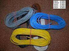 10m Litze-Schaltdraht-Kupferdraht-Flexible Litze-H0(5)7V-K 0,5 mm² - 2,5 mm²