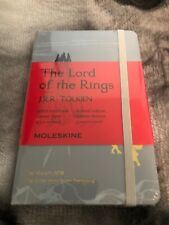 "Moleskine Lord of the Rings Ruled Notebook Limited Edition Moria 5"" x 8.25"""