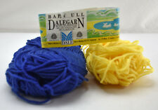 Dalegarn Dale of Norway Baby Ull Pure New Wool Yarn - Partial Skeins Blue Yellow