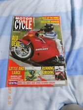 Motor Cycle International/XT350/Morini 350/CBR1000/Ducati 851/Honda CB1/FJ 1200