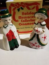 Vintage Olde Time Family Bells Holiday Memories Collector Christmas Ornaments