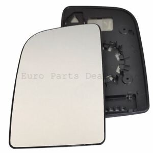 Wing door Mirror Glass Passenger side for VW Crafter 2006-17