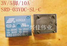 25pcs Relay 3V T73 SRD-03VDC-SL-C SRD-3VDC-SL-C 5foot