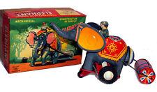 Vintage 1960's Tin Toy Windup Elephant Japan by KO