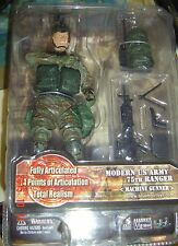 Elite FORCE Military ACTION Figure US Army 75 Ranger Machine Gunner CPL Dimarco
