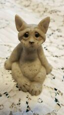 Quarry Critters Stone Cat Carl Late 90's Ex Cond. Figurine statue