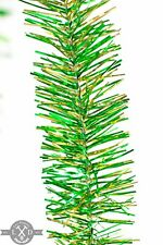 St. Patrick's Day Parade Tinsel Garland 25FT Length 3IN Width Green Gold Tinsel