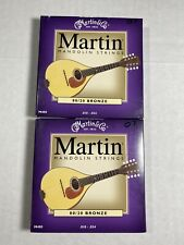Lot Of 2  Martin M400 Mandolin Strings 80/20 Bronze .10-.34