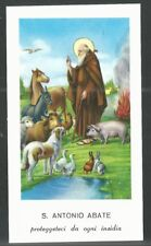 Estampa de San Antonio Abad santino image pieuse andachtsbil holy card