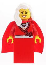 LEGO Mrs Christmas Female Minifig NEW Santa's Helper Mrs Claus
