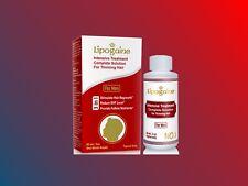LIPOGAINE FOR MEN 1 MONTH thinning hair regrowth topical rogaine foligain liquid