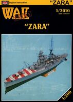 "GENUINE PAPER-CARD MODEL KIT- ""ZARA"""