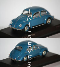 1/43 Minichamps VW Käfer 1200 1953 Bleu 430052107