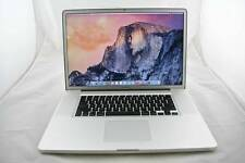 "2011 17"" MACBOOK PRO i7 2.4GHz 1TB SSD 16GB RAM MATTE ADOBE CS6 + FCP BRAND NEW"