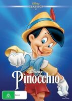 Disney Classics 2 Pinocchio DVD NEW Region 4