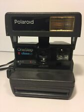 Polaroid One Step Close Up Camera 600 Instant Film Flash w/ strap. tested, works