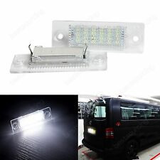 Canbus LED License Number Plate Light VW T5 Caddy Golf Jetta Passat Skoda Superb