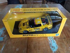 1:18 Autoart Corvette Racing C5-R 2002 24 Hours Le Mans Ron Fellows #63 80205