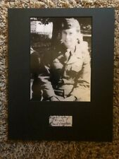Jack Foley Band Of Brothers 101st Airborne E Co autographed signed Photo