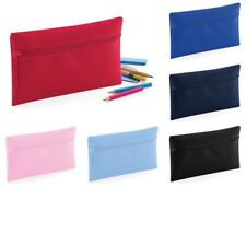 Pencil Case Kids School Office Stationary Bag Polyester Zipper Make Up Case
