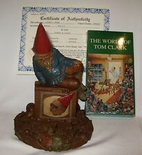 """Tom Clark Gnome TELLY #1189 """"Special Video Premiere"""" Ed. 54 1987 Signed with COA"""