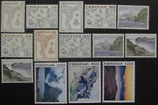FAROE ISLANDS #7-20: MNH Complete Set