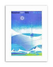 1972 OLYMPIC GAMES MUNICH GERMANY Poster Sport Canvas art Prints